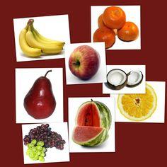Bits de frutas ¿Que son los bits de inteligencia? Son unidades de información por medio de imágenes grandes, claras y bien definidas. Son estímulos visuale Glenn Doman, Teaching Kids, Healthy Living, Peach, Fruit, Vegetables, Learning Spanish, Montessori, Food
