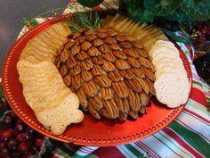 Holiday Cheeseball. The North Carolina pecans really make this recipe. #GottoBeNC