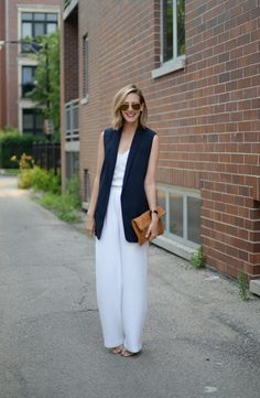 Short Hair / Long Vest (See Jane Wear) via See Jane / @seeannajane