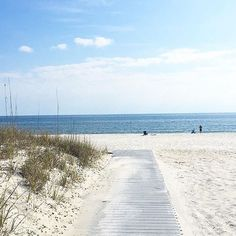 """It's a toes in the sand kind of day."" Pensacola Beach, Florida, by via"