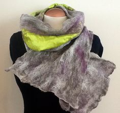 One of a kind alpaca wool scarf by Royalpaca on Etsy, $95.00