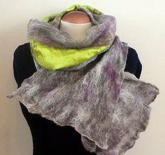 One of a kind alpaca wool scarf by Royalpaca on Etsy, $95.00
