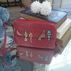 Mariposa wallet Great condition.color red true to pictures. Small size mariposa Bags Wallets