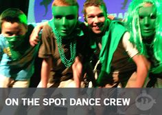 On The Spot Dance Crew: Youth Group Games - Stuff You Can Use
