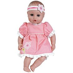 Adora PlayTime Baby Pretty Girl Vinyl 13 Girl Weighted Washable  Cuddly Snuggle Soft Toy Play Doll Gift Set with OpenClose Eyes for Children 1 Includes Bottle >>> Details can be found by clicking on the image.