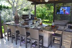 Luxapatio Is South Florida's first choice for outdoor kitchens and outdoor kitchen appliances. Outdoor Kitchen Patio, Outdoor Kitchen Design, Outdoor Kitchens, Outdoor Living, Outdoor Decor, Outdoor Bars, Outdoor Patios, Outdoor Rooms, Backyard Bar