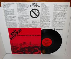 BAD RELIGION how could hell be any worse LP Record Vinyl with fold-out insert #punkPunkNewWave