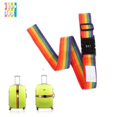 Password Protect Anti-Theft Luggage Straps