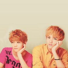 Luhan and Kris ... holy crap, they're beautiful ( つ﹏╰ )