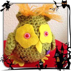 Crochet amigurumi zombie owl by MyLittleBeastie on Etsy