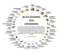 I förra inlägget om groddning kunde du läsa om varför det är bra att grodda frön, gryn, nötter och bönor för att göra näringen mer tillgänglig för dig. I just nämnda råvaror finns ämnen som hindrar kroppen från att ta upp specifika mineraler och kan orsaka problem med matsmältningen. Du kan läsa mer om det …