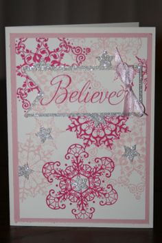 Stampin' Up Snowflake Soiree by Monica Stanford 2013