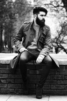 Today's Hair Faced Hero is one of the most followed & recognized dapper bearded lads in the scene right now... Sir. Chris John Millington has got to new levels with his elegantly fierce & contagious look. In fact he's done more than most at his age & has a whole lot more to come. CJM hails from Scotland and has been killing it in the male modelling industry for a while now. A great beard, a great accent + an even greater look - the mans bound for all kinds of success. Interestingly…