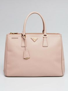 01d32133f529 Prada Cammeo Saffiano Lux Leather Double Zip Large Tote Bag BN1786