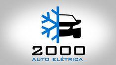 Auto Elétrica 2000 Trabalho: Logo Ano: 2013 Inspiração: auto elétrica, ar condicinado