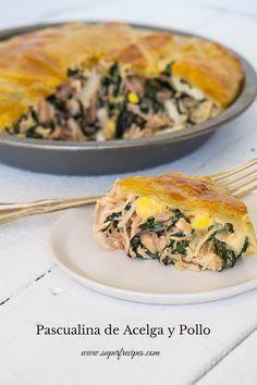 Pascualina de Acelga y Pollo | Cocinar en casa es facilisimo.com