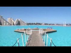 The World Largest San Alfonso Del Mar Resort Swimming Pool - Chile
