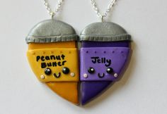Peanut Butter and Jelly Inspired by CharmingClayCreation on Etsy, £10.00