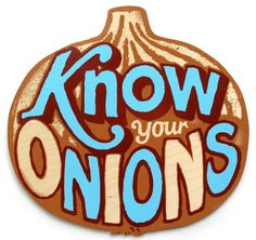 Know your Onions Andy Smith www.asmithillustration.com