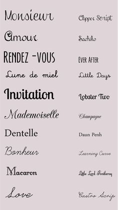 Suzi Tattoo Polices de mariage romantique à télécharger, Polices de mariage romantique à télécharger Polices de mariage : 10 polices de mariage romantique à télécharger pour personnaliser vos faire part, mar. Wedding Fonts, Wedding Invitation Design, Wedding Tips, Wedding Stationery, Diy Wedding, Invitation Wording, Wedding Reception, Typographie Inspiration, Lettering Styles