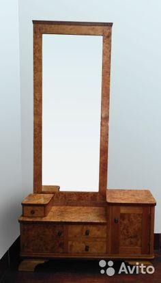 Трюмо (туалетный столик) в стиле art deco кап вяза— фотография №1