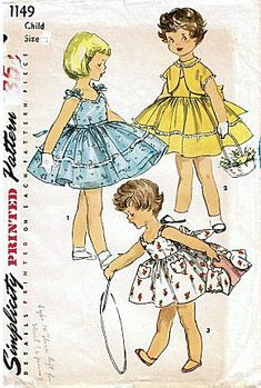 Simplicity 1149 Girls One Piece Dress Sewing Pattern Vintage 1950s Wedding, Flower Girl Simplicity,http://www.amazon.com/dp/B00G3U8HLU/ref=cm_sw_r_pi_dp_R5u7sb0CXWGEVA3T