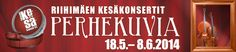Riihimäen kesäkonsertit 2014: Perhekuvia