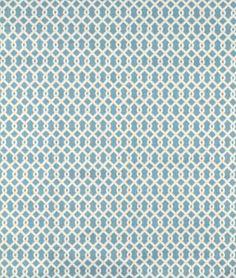 Waverly Ellis Turquoise Fabric - $13   onlinefabricstore.net