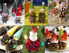Tutoriels pomme de pin : http://www.nafeusemagazine.com/Faire-des-personnages-en-pommes-de-pin-modeles-et-tutos_a1358.html