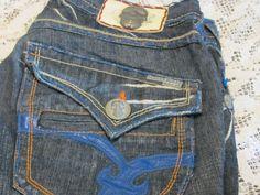 LAGUNA BEACH Jean Co. men's denim classic boot cut  Hand Made JEANS 33X35 #LagunaBeach #BootCutFlare