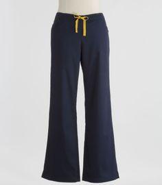 wide leg scrub pants - Pi Pants
