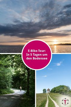 E-Bike-Tour um den Bodensee | Bodensee-Radweg Spa Hotel, Travel Through Europe, Closer To Nature, Hiking Trails, All Over The World, Sustainability, Tourism, Bike, Vacation