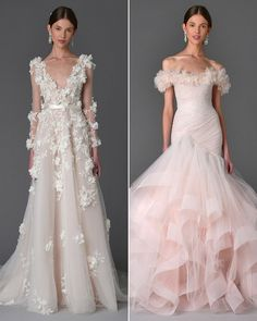 Marchesa Dreams Up an Enchanted Garden-Inspired Bridal Collection for Spring…