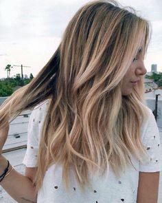 ombreli katlı saç modeli