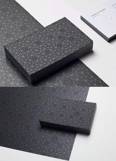 Black Umbrella Design Card
