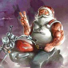 Quotes christmas santa xmas 66 Ideas for 2019 Christmas Pictures, Christmas Art, Christmas And New Year, Vintage Christmas, Christmas Humor, Harley Davidson Logo, Harley Davidson Motorcycles, Motorcycle Art, Bike Art