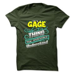 GAGE T-Shirts, Hoodies. SHOPPING NOW ==► https://www.sunfrog.com/Camping/GAGE-114466356-Guys.html?id=41382