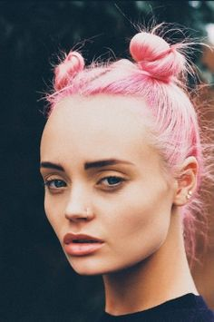 Baby Spice, Rainbow Hair, Crazy Hair, Messy Hairstyles, Gorgeous Hair, Blonde Hair, Hair Color, Make Up, Style Inspiration