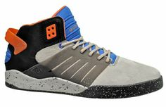 Supra Skytop III 3 Chad Muska Mens Skate Shoes Tan Black Blue Suede Leather, NEW