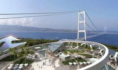 Bridge across Messina straits