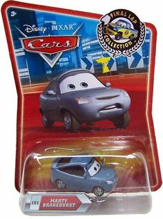 Disney / Pixar CARS Movie Exclusive 155 Die Cast Car Final Lap Series Marty Brakeburst by Mattel. $5.47. Disney / Pixar CARS Movie Exclusive 155 Die Cast Car Final Lap Series Marty Brakeburst. For aes 3+. It's the final lap and a race to the finish! Collect 40 new characters from the Cars movie, but don't speed by any classics you missed the first time around!. It's the final lap and a race to the finish! Collect 40 new characters from the Cars movie, but don't...