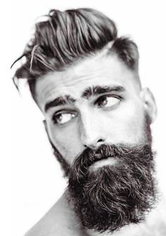 The 3 best Hairstyle & Beard Combinations