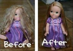 How to Untangle Doll Hair