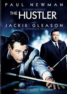 "Paul Newman in The Hustler was the predecessor to ""Color of Money."" Goes beyond billiards and transcends to life lessons. Great dialogue, well written and Jackie Gleason's best role in my opinion. A must watch in letter box version."