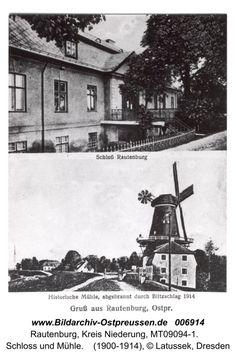 Rautenburg, Schloss und Mühle