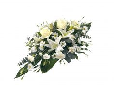 table sprays for your tables top tables and food tables we can do all colours Sympathy Flowers, Funeral, All The Colors, Floral Wreath, Colours, Wreaths, Food Tables, Plants, Sprays