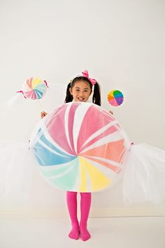DIY NO-SEW FELT CANDY COSTUME FOR KIDS