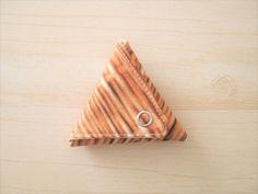布で作る!型紙から作る!!三角コインケース作り方の作り方