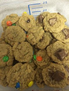 Peanut Butter Candy Mini Cookies