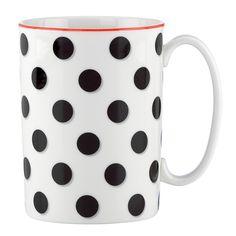 kate spade new york Spots Mug | Bloomingdale's - $20 // Dollar Tree mug + Sharpie Paint Pens = $1